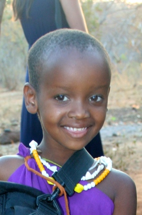 Maasai Girl.  She was a real sweetie.