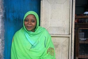 A Zanzibari woman