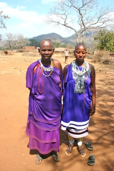 Left to right: Emmanuel's mom, the woman I talked to (couldn't understand her name).
